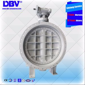 Industrial Qt450 Wormgear Flange Butterfly Valve