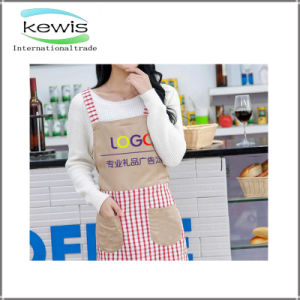 Gift Wholesale Factory Multifunctional Cotton Kitchen Apron pictures & photos
