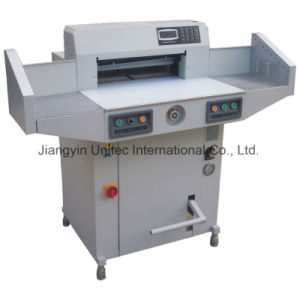 Most Popular Hydraulic and Programmable Paper Cutting Guillotine Machine Bw-R520V2