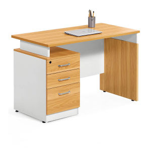 Simple Design Melamine Office Laptop Table pictures & photos