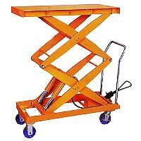 Hand-Hydraulic Table Truck with Good Quality for Sale pictures & photos