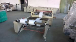 High Speed Non Woven Fabric Carbon Fiber Cuttign Machine pictures & photos