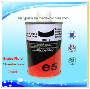 250ml DOT3 Motor Oil Synthetic Brake Fluid pictures & photos