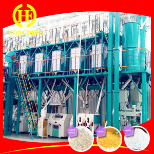 PLC Control Maize Milling Plant with Africa Market Maize pictures & photos