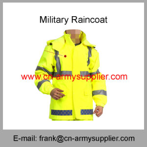 Reflective Raincoat-Security Raincoat-Traffic Raincoat-Police Raincoat-Duty Raincoat-Military Raincoat pictures & photos