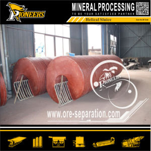 Gold Zicron Ilmenite Iron Sand Tin Ore Separator Spiral