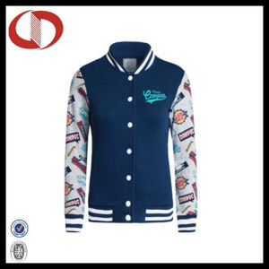 Fashion Print Hot Seller Women Baseball Jacket 2016 pictures & photos