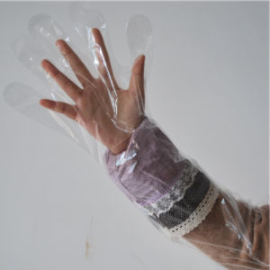 Veterinary Long Sleeve Gloves Non Latex pictures & photos