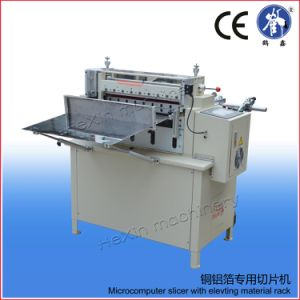 Aluminum Foil Metal Foil Sheeting Machine with Unwinding Machine pictures & photos