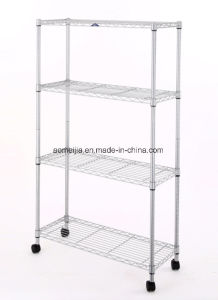 Metal Wire Shelf Factory, China Metal Wire Shelf Factory pictures & photos