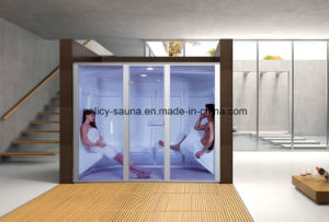 Family Using Hot Sale Acrylic Wet Steam Room 12b pictures & photos
