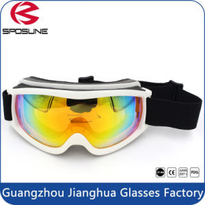2017 Best Quality Snowboard Goggles with Customized Adjustable Elastic Ski pictures & photos