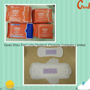 Feminine Hygiene Carefree Sanitary Napkin with Negative Ion