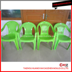 Plastic Injection Arm Chair Mold with Interchangable Back Insert