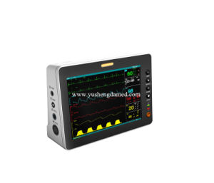 8 Inch Hospital Digital Equipment Portable Patient Monitor pictures & photos