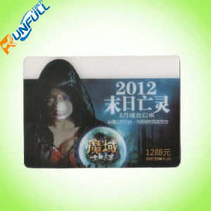 Color Printed Cr 80 PVC Card with Qr Code pictures & photos