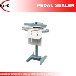 Pedal Sealing Machine/Impulse Sealer with Coding From China pictures & photos