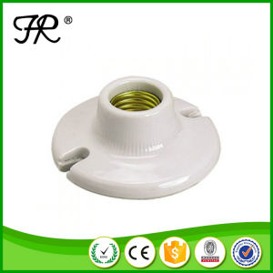 White Lamp Socket, Lamp Base Holder pictures & photos