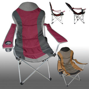 Luxury Aluminum Flat Garden Folding Chair pictures & photos