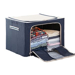 Foldable Collapsible Coloured Fabric Storage Boxes Basket Bin Cube pictures & photos