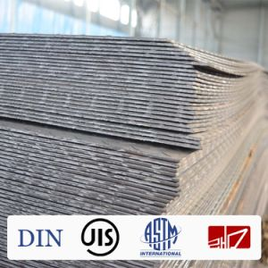 Ss400 A36 Q195 Q235 Q345 High Strength Carbon Steel Plate Hot Rolled Steel Plate Price Per Ton pictures & photos