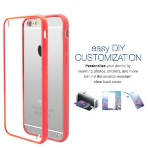 "Clear Back Hard Cover Slim Fit Scratch-Resistant Bumper Case Skin for iPhone 6 Plus 5.5"" pictures & photos"