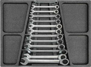 6 Drawers Heavy Duty Trolley Tool Set in Tools Tray (FY249A1) pictures & photos