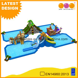 Giant Water Pool Twisted Water Slide Inflatable for Summer (AQ01778-2) pictures & photos