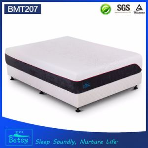 OEM Compressed Roll Pack Mattress 30cm with Double Jacquard Fabric Cover and Wave Foam pictures & photos