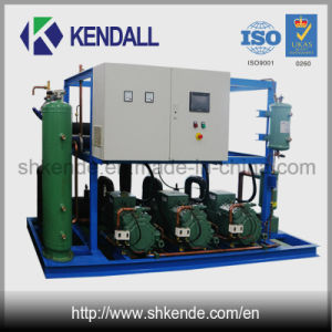 Compressor Rack for Low Temperature Cold Storage