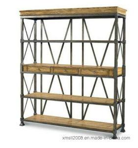 Furniture Book Wood Shelf Decorate Rack (AJ-0037) pictures & photos