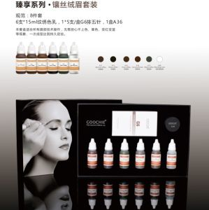 Plant Essence Semi Permanent Makeup Eyebrow Pigment Tattoo Color Kit pictures & photos