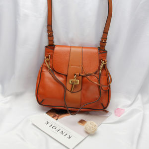 Dz038. Shoulder Bag Handbag Vintage Cow Leather Bag Handbags Ladies Bag Designer Handbags Fashion Bags Women Bag pictures & photos