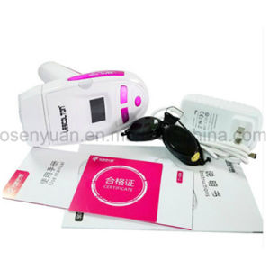 T-006i 300000 Pulses Electric LCD Display Laser Hair Epilator pictures & photos