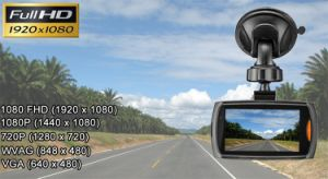 Mini and Cheap Car DVR with 170 Degree Dual Shot pictures & photos