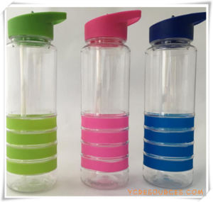 Straw Cup Water Bottle for Promotional Gifts (HA09035) pictures & photos