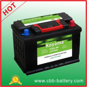 57531mf- 12V/75ah Automobile Car Battery pictures & photos