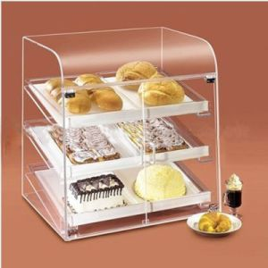 Pop Acrylic Display Shelf for Cakes, Advertising Acrylic Display Stand pictures & photos