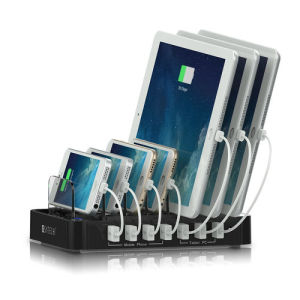 7 Ports Cell Phone USB Charging Station Dock for iPhone iPad pictures & photos