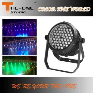 Outdoor IP65 54X3w LED RGBW Stage Event Lighting pictures & photos