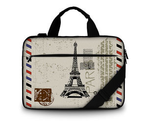 15.6 Customization Canvas Laptop Bag for MacBook/HP/Acer/Lenovo pictures & photos