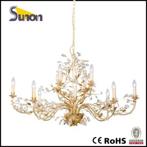 Made in China Antique Chandelier/ Gold Crystal Chandelier/Pendant Lighting pictures & photos