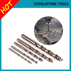 HSS Twist Drill Bits for Hard Metal Drilling M35 pictures & photos