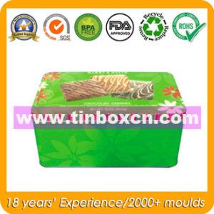 Rectangular Storge Tin Box with Food Grade, Metal Gift Box pictures & photos