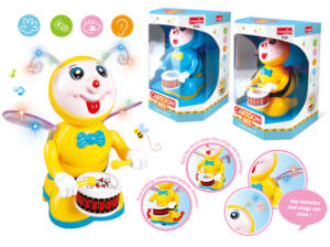 Battery Operated Cartoon Toys Buffoon Baby Toy (H0278047) pictures & photos
