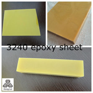 Thermal Insulation Board G10/Fr-4 Sheet 94V0 with Low Water Absorption pictures & photos