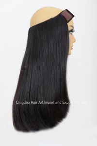 Double Drawn Human Remy Hair Band pictures & photos