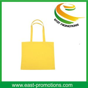 Pure Color Cotton Canvas Tote Bag with Brand Logo pictures & photos