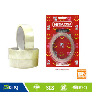 Hot! Clear BOPP Film School Stationery Tape with Good Quality pictures & photos