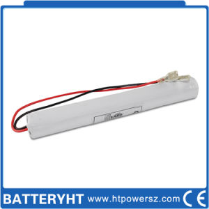 Customize 4.8V 1500mAh ~2000mAh NiCd Emergency Light Battery pictures & photos